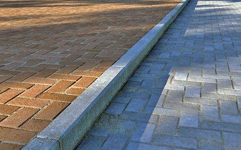 Тротуарные бордюры фото