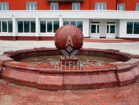 Гранитный шар фото 14