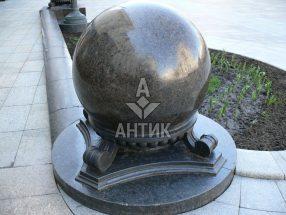 Гранитный шар фото 16