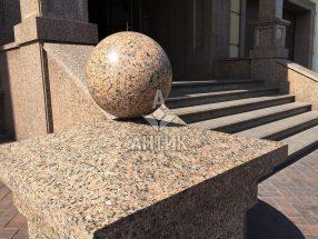 Гранитный шар фото 20