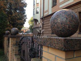 Гранитный шар фото 35