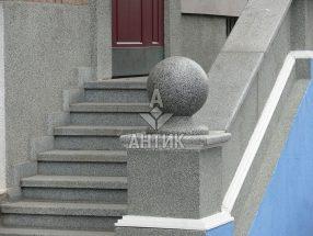 Гранитный шар фото 39