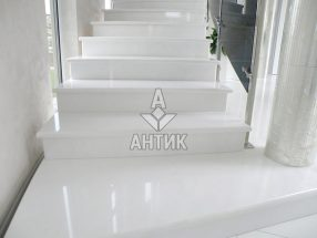 Мрамор Cristal White фото 2