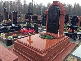 Памятник с надгробной плитой фото 28