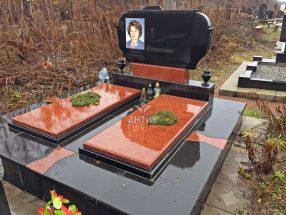 Памятник с надгробной плитой фото 26