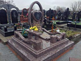Памятник с сердцем фото 13