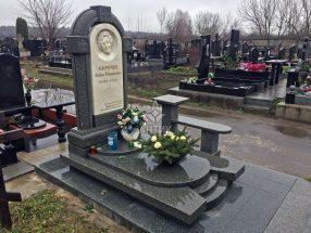 Памятник с надгробной плитой фото 22
