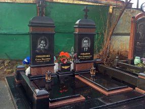 Памятник с надгробной плитой фото 15