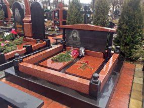 Памятник с надгробной плитой фото 12