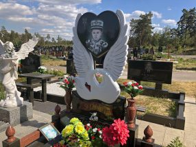 Памятник с сердцем фото 31