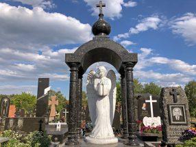 Памятник ангел фото 44