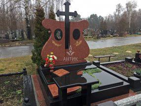 Памятник с надгробной плитой фото 7
