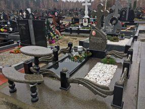 Памятник с надгробной плитой фото 4