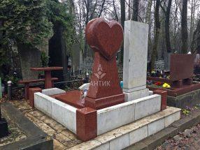 Памятник с сердцем фото 7