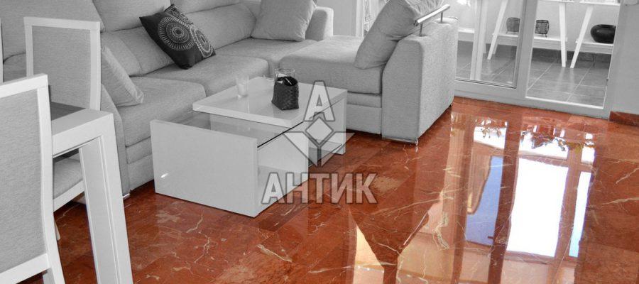 Мрамор Rojo Alicante (Rosso Alicante) фото 3