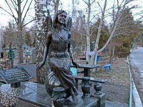 Памятник ангел фото 2