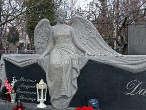 Памятник ангел фото 3