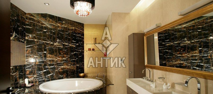 Мрамор Black and Gold фото 1