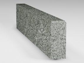 Бордюр из Богуславского гранита 200x80x1000 полированный фото