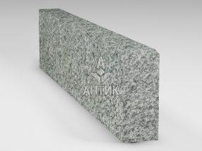 Бордюр из Болтышского гранита 200x80x1000 термообработанный фото