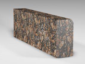 Бордюр из Брусиловского гранита 300x150x1000 термообработанный фото