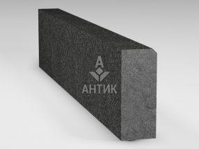 Бордюр из Букинского габбро 200x80x1000 термообработанный фото