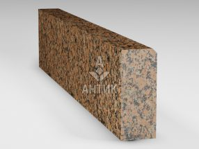 Бордюр из Емельяновского гранита 200x80x1000 полированный фото