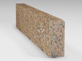 Бордюр из Емельяновского гранита 200x80x1000 термообработанный фото