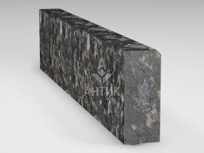 Бордюр из Головинского лабрадорита 200x80x1000 термообработанный фото