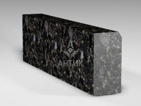 Бордюр из Головинского лабрадорита 300x150x1000 полированный фото