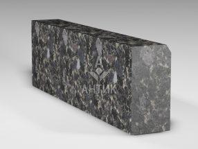 Бордюр из Головинского лабрадорита 300x150x1000 термообработанный фото