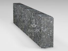 Бордюр из Каменная Печь лабрадорита 200x80x1000 термообработанный фото