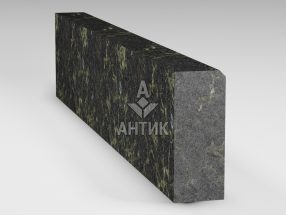 Бордюр из Каменнобродского лабрадорита 200x80x1000 термообработанный фото