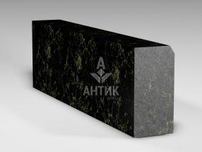 Бордюр из Каменнобродского лабрадорита 300x150x1000 полированный фото