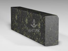 Бордюр из Каменнобродского лабрадорита 300x150x1000 термообработанный фото