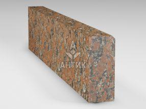 Бордюр из Капустинского гранита 200x80x1000 термообработанный фото