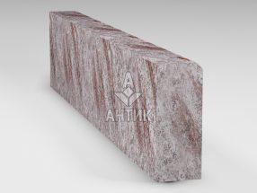 Бордюр из Крутневского гранита 200x80x1000 термообработанный фото