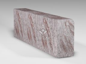 Бордюр из Крутневского гранита 300x150x1000 термообработанный фото