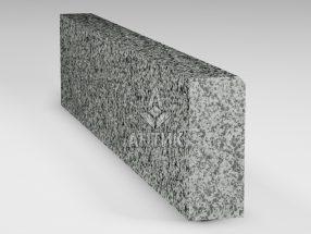 Бордюр из Покостовского гранита 200x80x1000 полированный фото