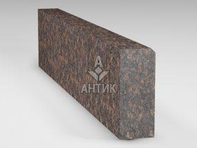 Бордюр из Жадановского гранита 200x80x1000 термообработанный фото