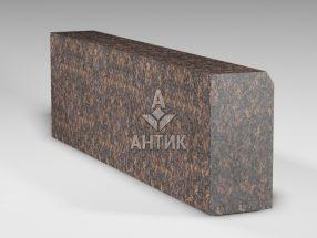 Бордюр из Жадановского гранита 300x150x1000 термообработанный фото