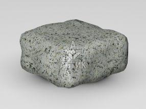 Брусчатка из Богуславского гранита 100x100x50 галтованная фото