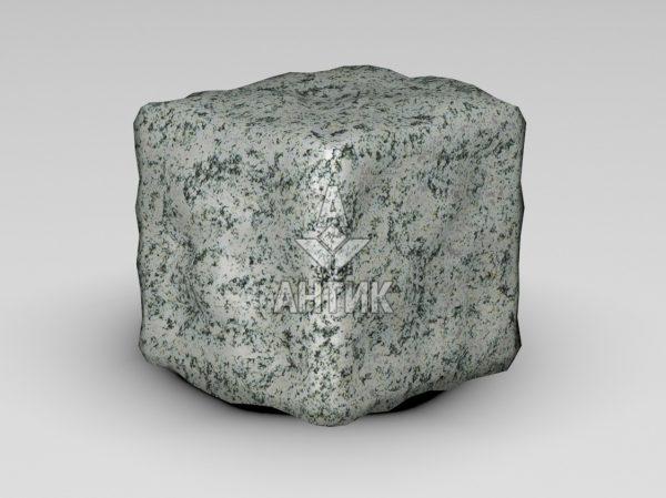 Брусчатка из Болтышского гранита 100x100x100 галтованная фото