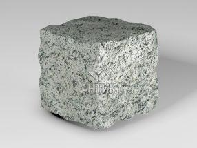 Брусчатка из Болтышского гранита 100x100x100 колотая фото