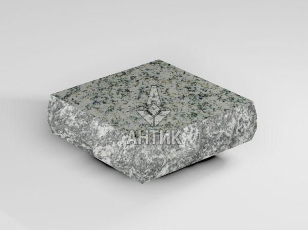 Брусчатка из Болтышского гранита 100x100x30 пилено-колотая термообработанная фото