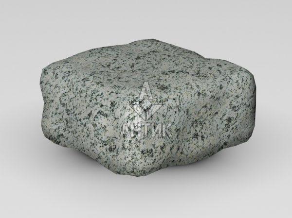 Брусчатка из Болтышского гранита 100x100x50 галтованная фото