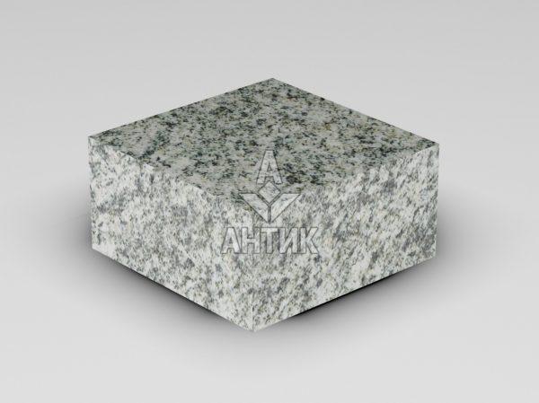 Брусчатка из Болтышского гранита 100x100x50 пиленая термообработанная фото