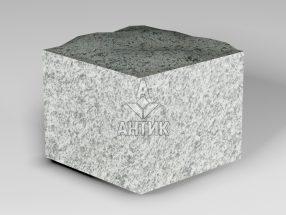 Брусчатка из Болтышского гранита 100x100x80 пилено-колотая фото