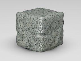 Брусчатка из Болтышского гранита 150x150x150 галтованная фото