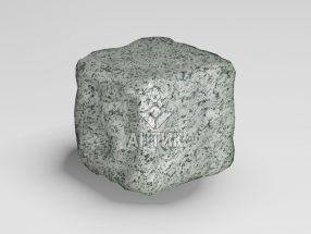 Брусчатка из Болтышского гранита 50x50x50 галтованная фото
